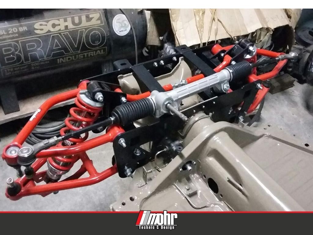 Foto Rust Garage/SP (Foto ilustrativa - produto não acompanha caixa de direção)