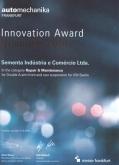 Indicação premio inovação - Automechanika Frankfurt 2018