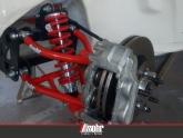 Detalhe pinça de freio dupla